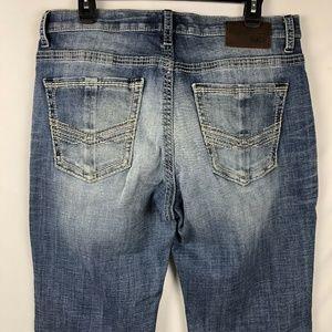 BKE Buckle Men's Derek Jeans Size 34XL Bootleg New